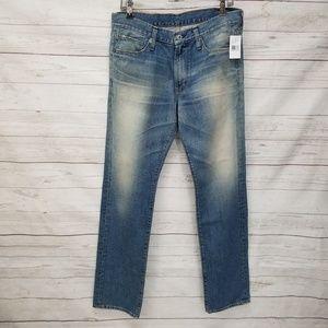 Big Star Mens 32X33 Medium Distressed Jeans